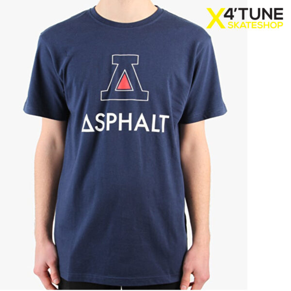 Asphalt Yacht Club Roman Big A T-Shirt