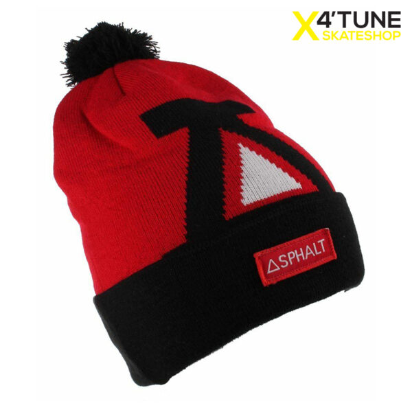 AYC Big A Cuff Beanie red