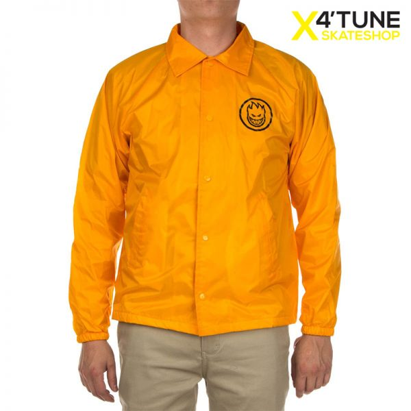 SPITFIRE Coach Jacket yellow ön